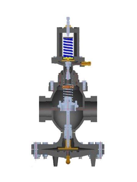 Manutenção em válvula redutora de pressão