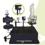 Calibração de válvula redutora